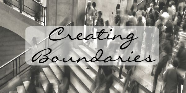 Creating boundaries with people you love