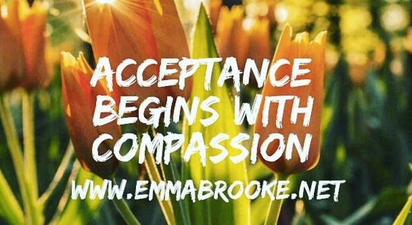 Acceptance starts with compassion