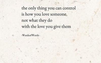 Control vs Love
